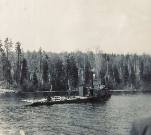 Steamboat lac Archambault